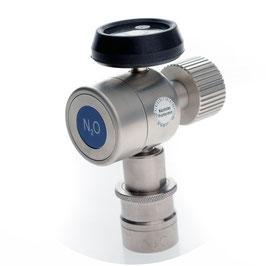 N2O Flaschendruckminderer fix