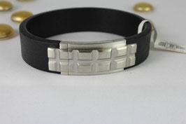 S.Oliver Herren Armband aus Leder mit Magnetverschluss    -25% Angebot