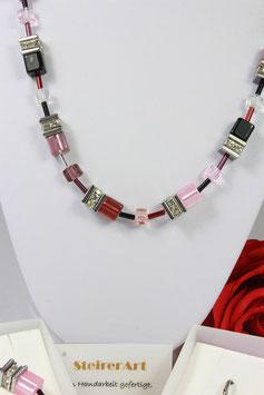 Pour Toi Set in rot,violett,rosa und schwarz