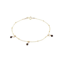 Goldfilled Galaxy Bracelet Onyx