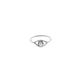 Oculus Ring Silver