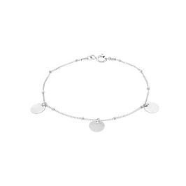 Silver Galaxy Bracelet Three Sequins