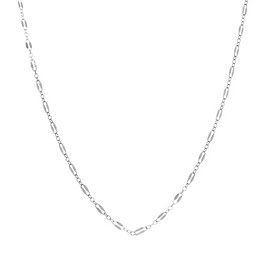 Silver Necklace Midnight