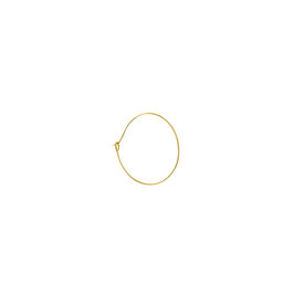 Goldfilled Hoop thin