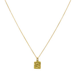 Goldfilled Necklace Palm
