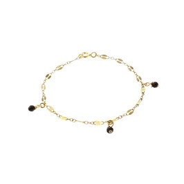 Goldfilled Midnight Bracelet Onyx