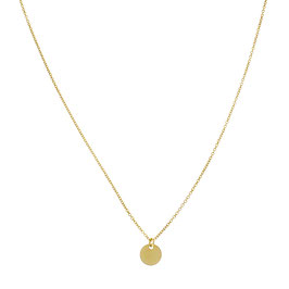 Goldfilled Necklace Sequin