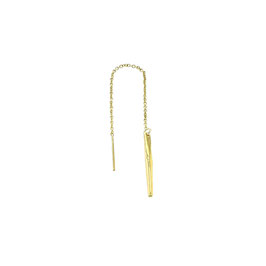 Goldfilled Earchain Twig