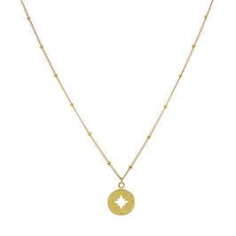 Goldfilled Galaxy Necklace Wanderlust