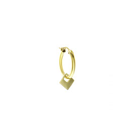 Goldfilled Chunky Hoop Square