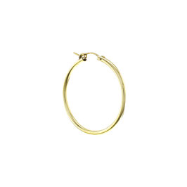 Goldfilled Chunky Hoop Large