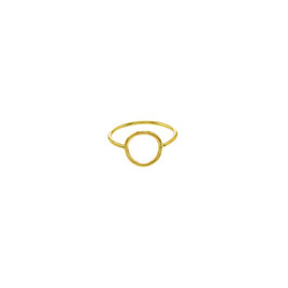 Moon Ring Goldfilled