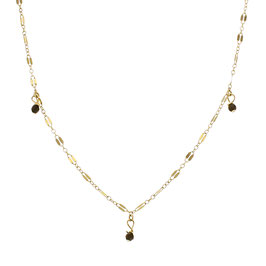Goldfilled Midnight Onyx Necklace