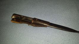 Extra Seitengewehr Typ KS 1898 mit Koppel in perfektem Zustand!