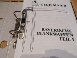 Gerd Maier Bayern Blankwaffen alle 3 Bände