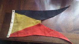 Lanzen-Fahne Flagge ( lans vlag belgië ) Belgien M1896 Sehr Selten!
