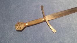 Ritterschwert, Schwert Historismus im Stil des 14. Jahrhunderts