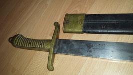 M1849 Artillerie Faschinenmesser Sachsen
