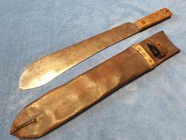 Machete Buschmesser 2WK Großbritannien mit Scheide, London 1940