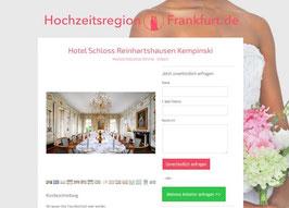 Anbieter-Präsenz auf Hochzeitsregion-Freiburg.de