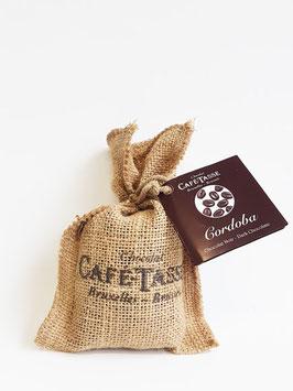 Kaffeebohnen mit Schokoladeüberzug