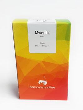 Microlot-Kaffee Mwendi von Backyard Coffee, 250g, ganze Bohnen