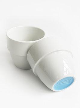 Zwei Cupping-Becher von ACME
