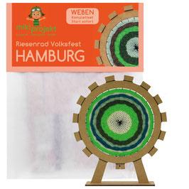 Bastelset Weben Riesenrad Hamburg