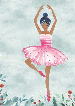 Designkarten-Set 'Ballerina' 5 Stück