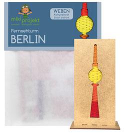 Bastelset Weben Fernsehturm Berlin