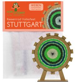 Bastelset Weben Riesenrad Stuttgart