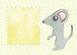 Designkarten-Set 'Maus' 5 Stück