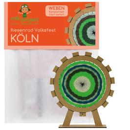 Bastelset Weben Riesenrad Köln