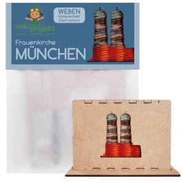 Bastelset Weben Frauenkirche München