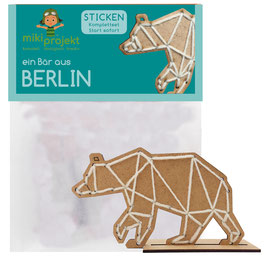 Bastelset Sticken 'ein Bär aus Berlin'