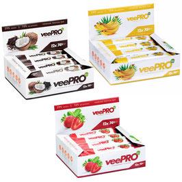 veePro - Protein Riegel 12er Pack