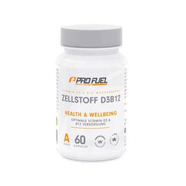 Zellstoff D3B12 (Vitamin D3 + B12)