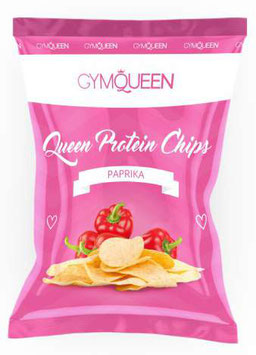 Gym Queen Protein Chips, 50 Gramm (Paprika)