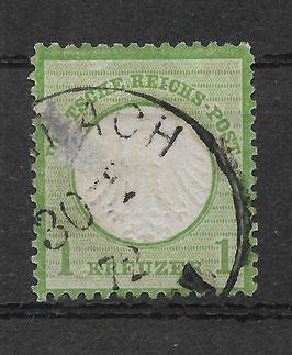Deutsches Reich BRUSTSCHILD 7 gestempelt (BPP KRUG)