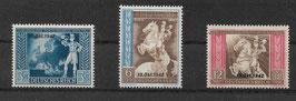 Deutsches Reich POST- und FERNMELDEVEREIN 823-825 postfrisch