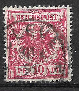 Deutsches Reich KRONE/ADLER 47b gestempelt (BPP WIEGAND)