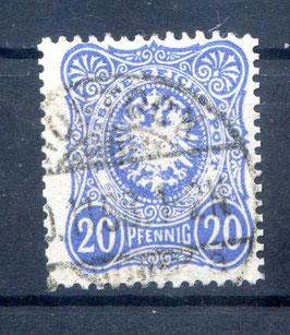 DR PFENNIG 42 Ic gestempelt (BPP WIEGAND) (III)