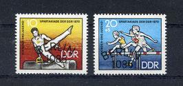 DDR 1594-1595 gestempelt