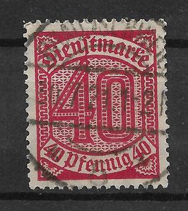 Deutsches Reich DIENST 28 gestempelt