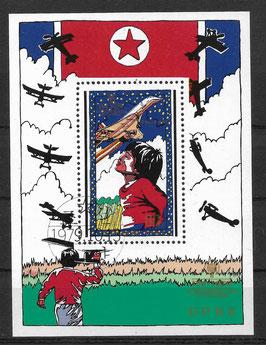 Nordkorea Block 64 gestempelt