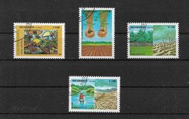 NICARAGUA 2535-2538 gestempelt