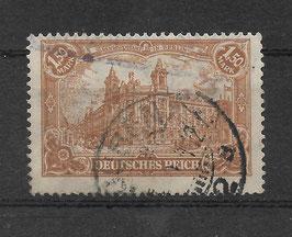 Deutsches Reich GERMANIA 114a gestempelt (BPP BAUER) (8)
