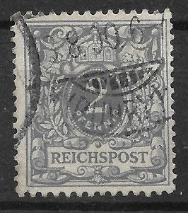 Deutsches Reich KRONE & ADLER 52 gestempelt