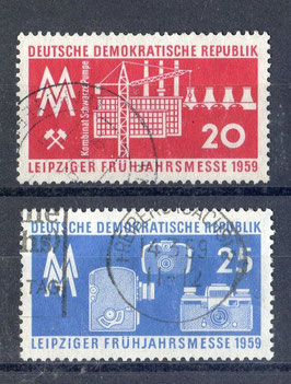 DDR 678-679 gestempelt