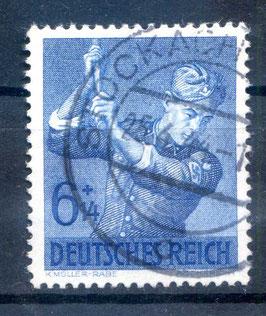 DR ARBEITSDIENST 852 gestempelt